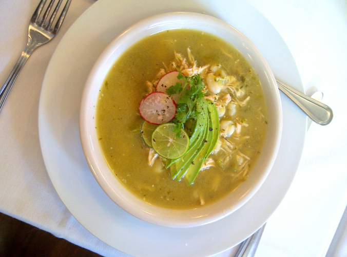 Chicken Pozole with Tomatillo and Hominy - The Refugio News | The ...